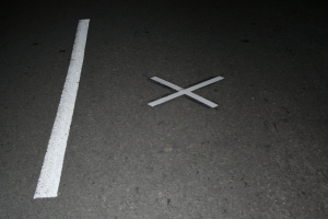 """The """"x"""" in the Street"""