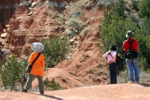 Hiking in Palo Duro