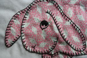 Pink Pie-Eyed Bunny