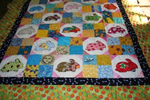 Fused Bunny Quilt