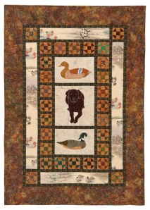 Petey and Duck Decoys Quilt