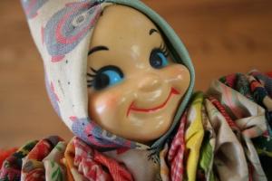 Vintage yo yo doll
