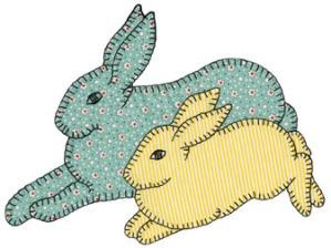 Grandma's Bunnies Pattern #6