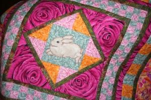 Bunny Medallion Quilt