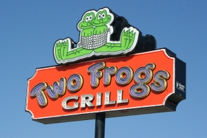 Two Frogs Grill in Ardmore, Oklahoma