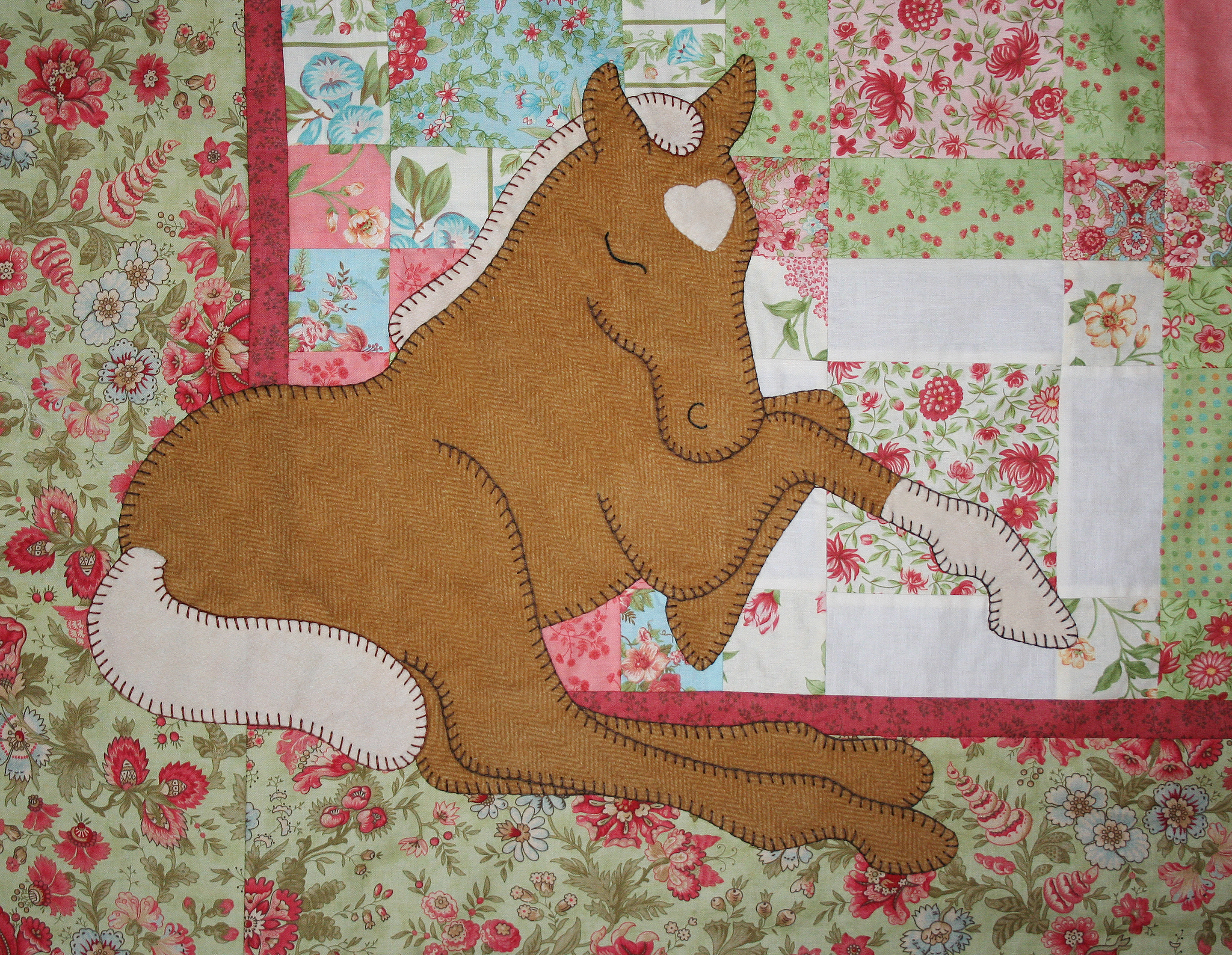 Quilt Patterns With Horses : Baby Quilt Ashton Publications