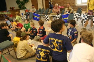 Pinewood Derby Day - Pack 55