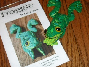 Frog Pattern -- Make Your Own Frogs!