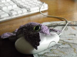 Violet the Frog