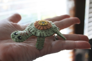 Wool Penny Turtle