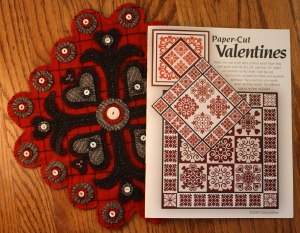 Paper Cut Valentine Book