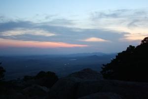 Mt. Scott at Twilight