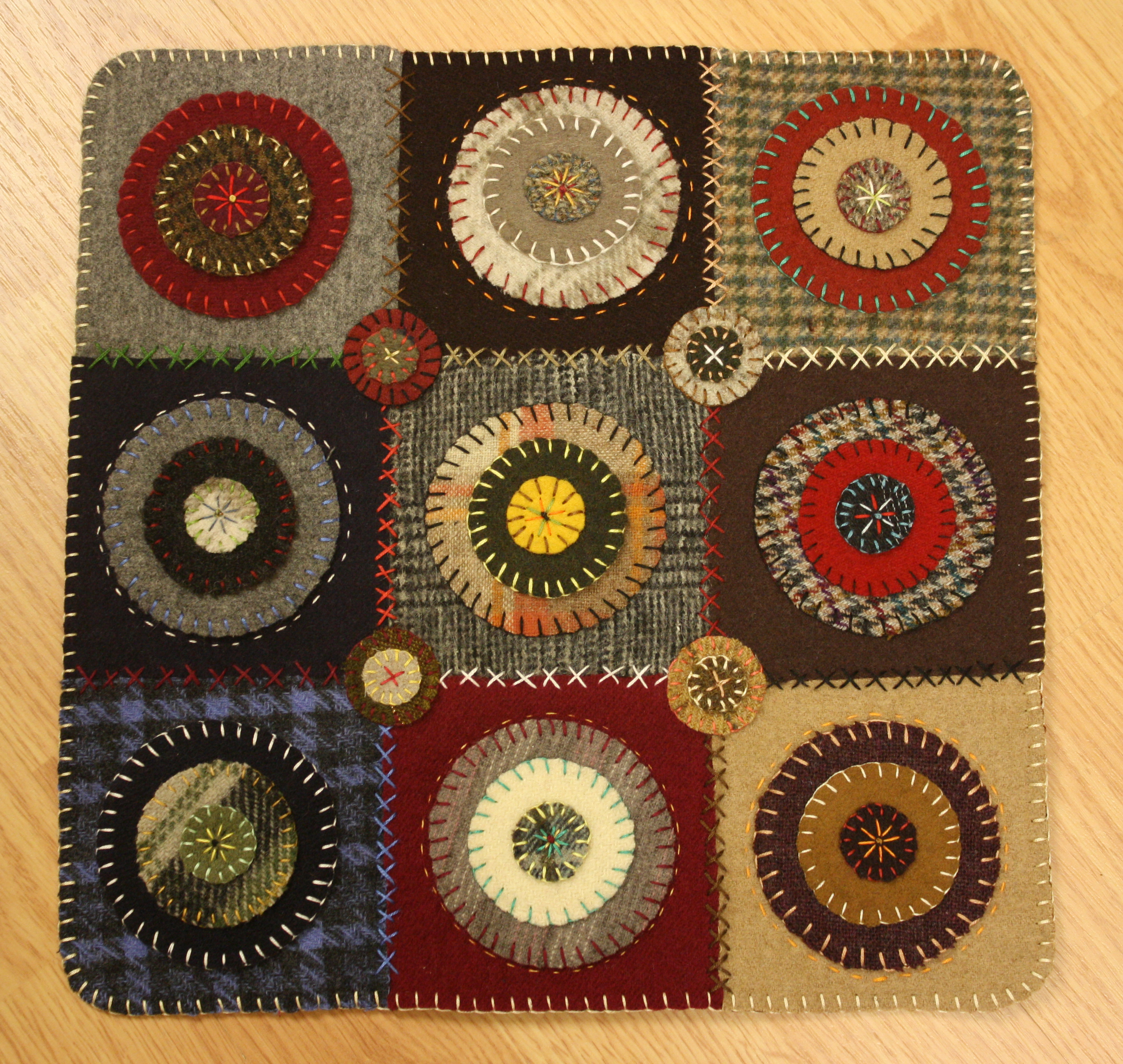 Wool Penny Rug Ashton Publications