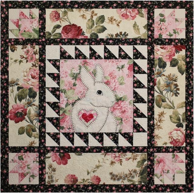 full bunny quilt small