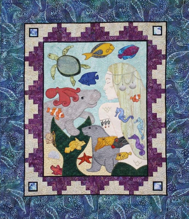 Mermaid Quilt(small)